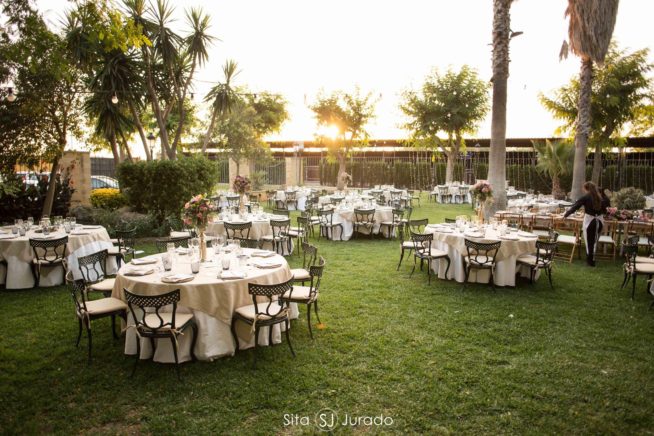 Jardín eventos sevilla